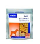 C.E.T. HEXtra Premium Chews with Chlorhexidine for Dogs, 30 Medium Chews