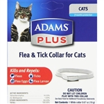 Adams Plus Flea & Tick Collar For Cats
