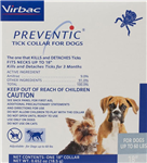 Preventic Tick Collar For Dogs Up To 60 lbs, 18''