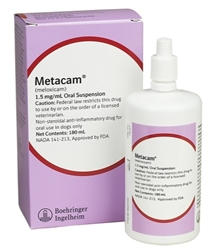 Metacam Oral Suspension 1.5 mg/ml, 180 ml