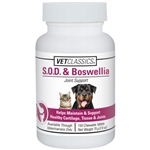 S.O.D. and Boswellia, 150 Tablets