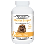 VetClassics Bladder Support For Dogs, 60 Chewable Tablets