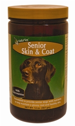 NaturVet Senior Skin & Coat For Dogs, 14 oz Powder