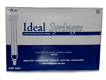 Ideal Syringe 35 cc, Without Needle, Luer Lock, 50/Box