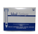 Ideal Syringe 6 cc, Without Needle, Luer Lock, 50/Box