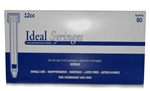 Ideal Syringe 12cc, Without Needle, Luer Lock, 80/Box