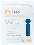 iPet PRO Lancets 28G for Dogs & Cats, 100 Count