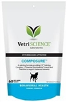 Composure Bite-Sized Chews, Canine Formula, 60 Soft Chews