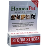 HomeoPet Pro Storm Stress for Dogs up to 20 lbs, 5 ml