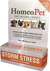 HomeoPet Pro Storm Stress for Dogs 20-80 lbs, 5 ml