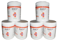 Renal K+ (Potassium Gluconate) Powder 100 gram (6 Pack)