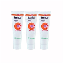 Renal K+ (Potassium Gluconate)  Gel,  5 oz. (3 Pack)