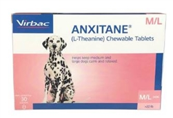 Anxitane M Amp L Chewable Tablets L Calming Supplement For