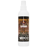 Vedco ChlorHex 2X 4% Spray, 8 oz.
