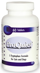 ProQuiet Calming Supplement For Cats & Dogs, 60 Chewable Tablets