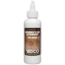 Vedco Swimmer's Ear Astringent For Dogs, 4 oz.