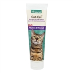 NaturVet Cat-Cal Nutritional Gel Plus Vitamins & Minerals, 5 oz