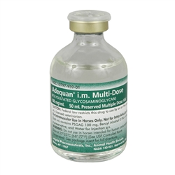 Adequan I.M. Multi-Dose, 100mg/ml, 50 ml