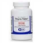 Thyro-Tabs (levothyroxine) For Dogs 0.1mg, 1000 Tablets
