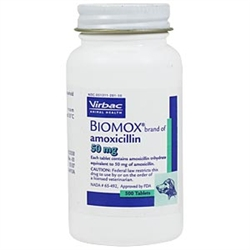 Biomox 50mg, 500 Tablets