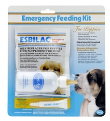 PetAg Esbilac Emergency Feeding Kit For Puppies