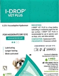 I-Drop Vet PLUS Lubricating Eye Drops, 10 ml