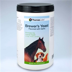 Thomas Labs Brewer's Yeast Flavored With Garlic, 16 oz