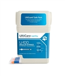 "UltiCare VetRx Insulin Syringe U-100, 1/2 cc, 29 ga. x 1/2"", UltiGuard Dispenser, Sharps Container, 100 Syringes"