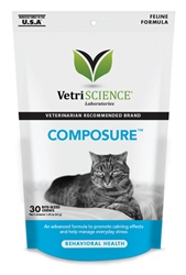 Composure Feline 30 Bite-Sized Chews