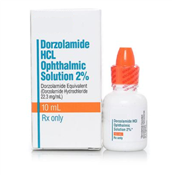 Dorzolamide 2% Ophthalmic Solution 10 ml