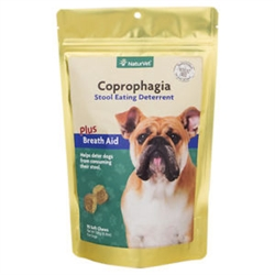 NaturVet Coprophagia Stool Eating Deterrent, 90 Soft Chews