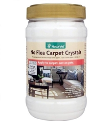 NaturVet No Flea Carpet Crystals, 2 lbs