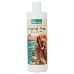 NaturVet Herbal Flea Shampoo With Essential Oils, 16 oz