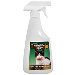 NaturVet Herbal Flea Spray for Cats, 16 oz.