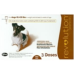 Revolution For Dogs 11-20 lbs, 3 Doses