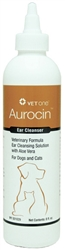 VetOne Aurocin With Aloe Vera Ear Cleanser, 8 oz