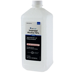 Isopropyl Alcohol 70%, (32 oz) Quart