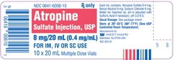 Atropine Sulfate injection- Small Animal