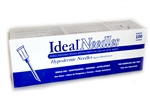 "Ideal Needles 22 gauge x 3/4"",  Hard Pack 100/Box"
