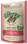 Feline Greenies Dental Treats - Savory Salmon Flavor, 2.5oz (10 Pack)