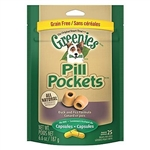 Greenies Pill Pockets Grain Free Formula Dogs, 25 Pockets For Capsules