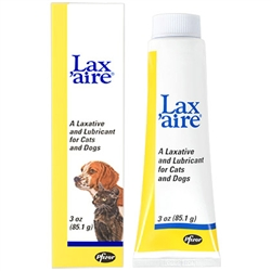 Lax'aire Laxative & Lubricant For Dogs & Cats, 3 oz