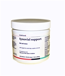Synovial Support Mini Soft Chews For Small Dogs, Puppies and Cats, 120 Count