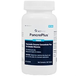 PancrePlus Tablets, 500 Count