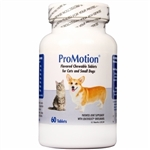 ProMotion For Cats & Small Dogs, 60 Chewable Tablets