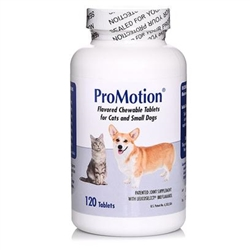 Promotion For Cats & Small Dogs, 120 Chewable Tablets