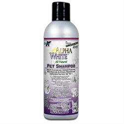 Groomer's Edge Alpha White Pet Shampoo, 8 oz.