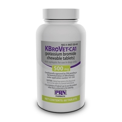 K-BroVet 500mg, 60 Chewable Tablets