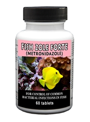 Fish Zole Forte (Metronidazole) 500mg, 60 Tablets