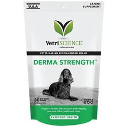 VetriScience Derma Strength Canine, 30 Bite-Sized Chews
